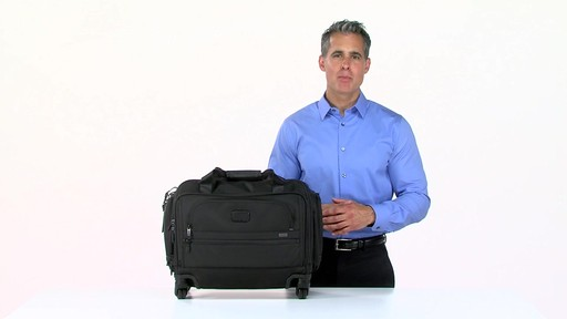 Tumi Alpha 2 4 Wheeled Compact Duffel - image 1 from the video