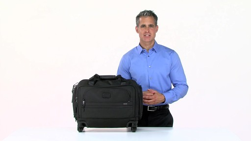 Tumi Alpha 2 4 Wheeled Compact Duffel - image 10 from the video