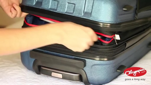 Olympia USA Hardside Spinner Luggage Collection - image 2 from the video