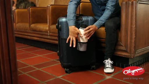 Olympia USA Hardside Spinner Luggage Collection - image 8 from the video