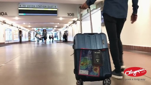 Olympia USA Hardside Spinner Luggage Collection - image 9 from the video