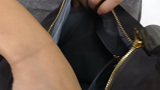 Suvelle RFID Expandable Travel Convertible Crossbody Bag - image 8 from the video