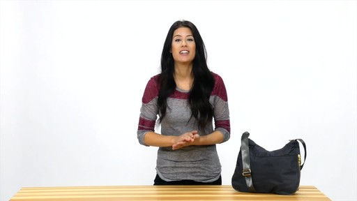 Suvelle RFID Expandable Travel Convertible Crossbody Bag - image 9 from the video