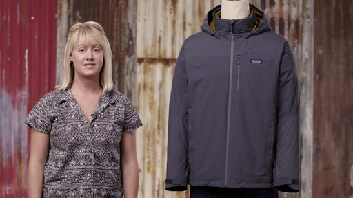 Patagonia Mens Windsweep 3-in-1 Jacket - image 9 from the video