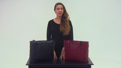 Kenneth Cole Reaction A Majority Leather Tote - EXCLUSIVE - on eBags.com - image 7 from the video