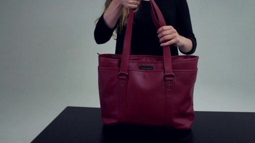 Kenneth Cole Reaction A Majority Leather Tote - EXCLUSIVE - on eBags.com - image 8 from the video