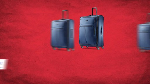 Samsonite Leverage LTE Expandable Spinner Luggage Collection - image 10 from the video
