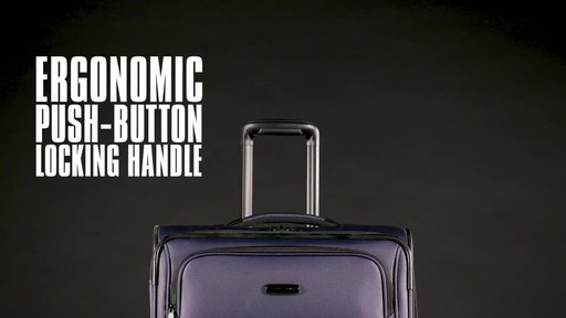 Samsonite Leverage LTE Expandable Spinner Luggage Collection - image 7 from the video