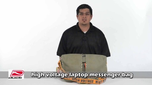 Ducti Utility Laptop Bag - image 2 from the video