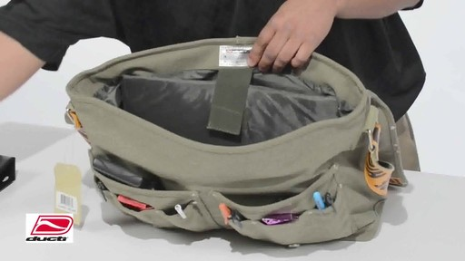 Ducti Utility Laptop Bag - image 5 from the video
