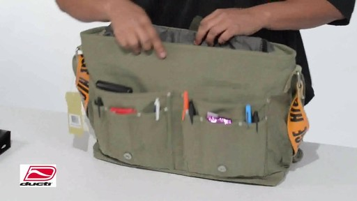 Ducti Utility Laptop Bag - image 6 from the video