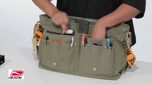 Ducti Utility Laptop Bag - image 7 from the video