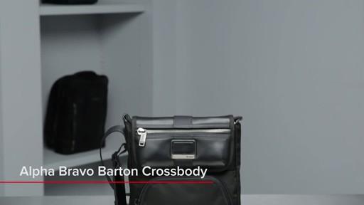 Tumi Alpha Bravo Barton Crossbody - image 1 from the video
