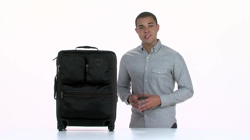 Tumi Alpha Bravo Kirtland Continental Expandable Carry On - eBags.com - image 1 from the video