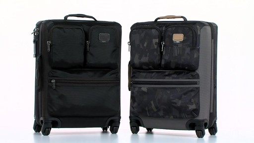 Tumi Alpha Bravo Kirtland Continental Expandable Carry On - eBags.com - image 10 from the video