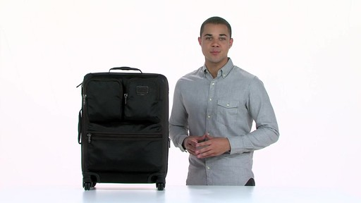 Tumi Alpha Bravo Kirtland Continental Expandable Carry On - eBags.com - image 2 from the video