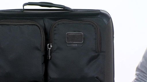 Tumi Alpha Bravo Kirtland Continental Expandable Carry On - eBags.com - image 3 from the video