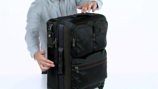 Tumi Alpha Bravo Kirtland Continental Expandable Carry On - eBags.com - image 6 from the video