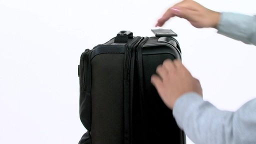 Tumi Alpha Bravo Kirtland Continental Expandable Carry On - eBags.com - image 8 from the video
