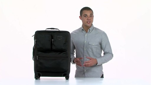 Tumi Alpha Bravo Kirtland Continental Expandable Carry On - eBags.com - image 9 from the video