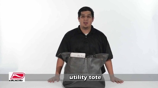 Ducti Utility Tote - image 1 from the video