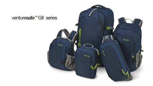 Pacsafe Venturesafe 25L GII - on eBags.com - image 10 from the video