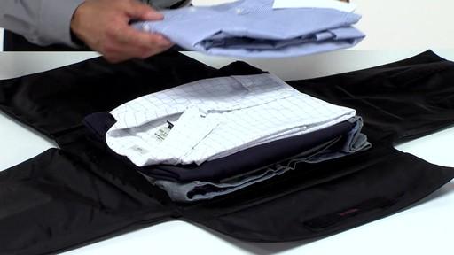 Tumi Medium Flat Folding Pack 187 Ebags Video