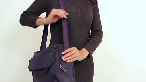 Travelon Anti-Theft Classic East/West Messenger Bag - eBags.com - image 2 from the video
