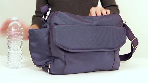 Travelon Anti-Theft Classic East/West Messenger Bag - eBags.com - image 9 from the video