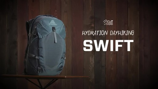 Gregory Womens Swift 3D-Hydro Backpacks - image 1 from the video