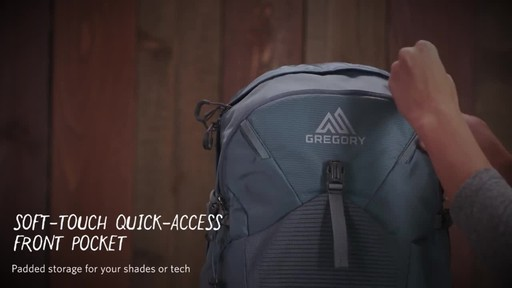 Gregory Womens Swift 3D-Hydro Backpacks - image 10 from the video