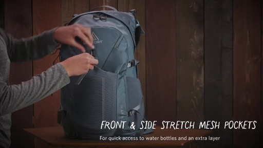 Gregory Womens Swift 3D-Hydro Backpacks - image 7 from the video