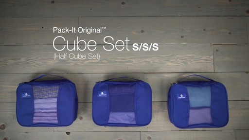 Eagle Creek Pack-It™ Half Cube Set - image 10 from the video