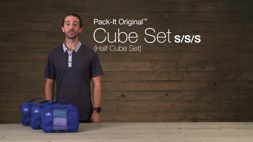 Eagle Creek Pack-It™ Half Cube Set - image 2 from the video