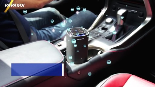PAPAGO Airfresh S10D Portable Air Purifier for Car & Home - image 3 from the video