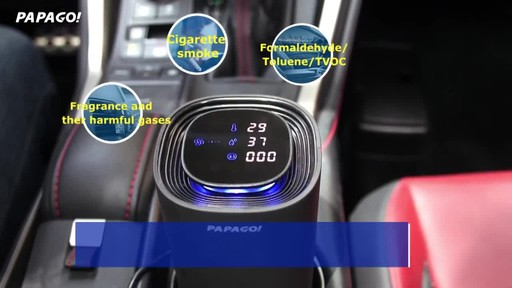 PAPAGO Airfresh S10D Portable Air Purifier for Car & Home - image 5 from the video