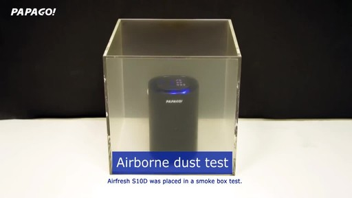 PAPAGO Airfresh S10D Portable Air Purifier for Car & Home - image 8 from the video