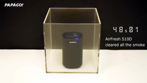 PAPAGO Airfresh S10D Portable Air Purifier for Car & Home - image 9 from the video