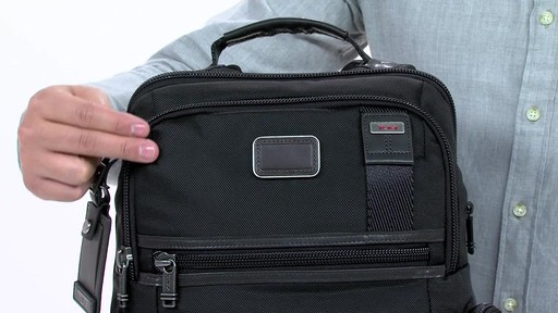 Tumi Alpha Bravo Knox Backpack - eBags.com - image 1 from the video