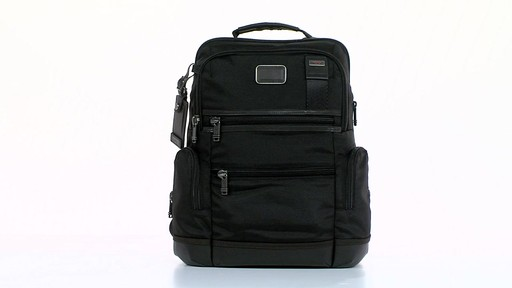 Tumi Alpha Bravo Knox Backpack - eBags.com - image 10 from the video