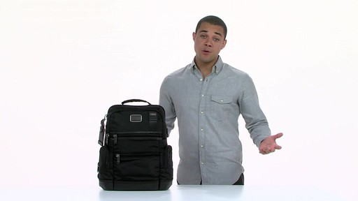 Tumi Alpha Bravo Knox Backpack - eBags.com - image 2 from the video