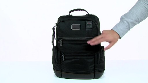 Tumi Alpha Bravo Knox Backpack - eBags.com - image 3 from the video