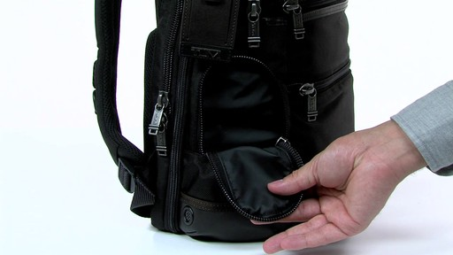 Tumi Alpha Bravo Knox Backpack - eBags.com - image 4 from the video