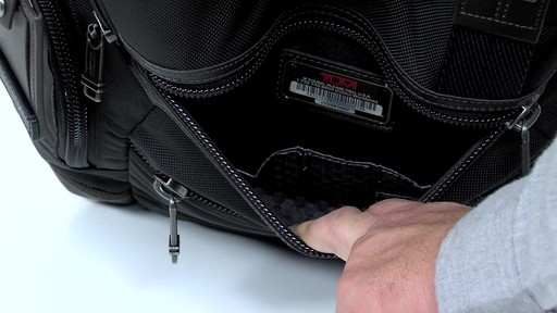 Tumi Alpha Bravo Knox Backpack - eBags.com - image 5 from the video