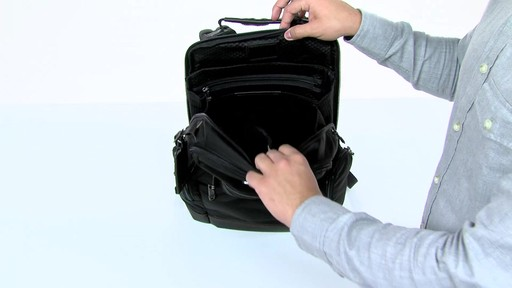 Tumi Alpha Bravo Knox Backpack - eBags.com - image 6 from the video