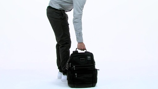 Tumi Alpha Bravo Knox Backpack - eBags.com - image 8 from the video