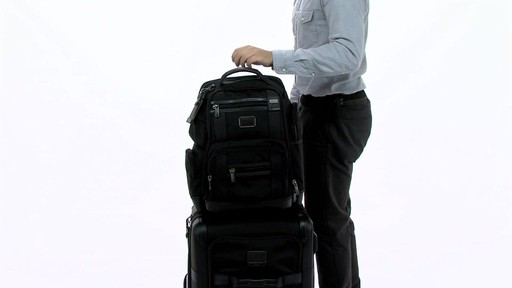 Tumi Alpha Bravo Knox Backpack - eBags.com - image 9 from the video