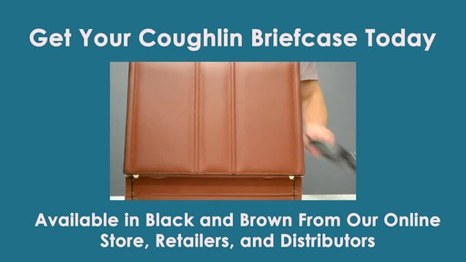 McKlein USA Coughlin Leather Expandable Attache Case - image 10 from the video
