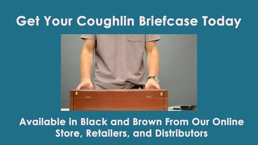 McKlein USA Coughlin Leather Expandable Attache Case - image 9 from the video