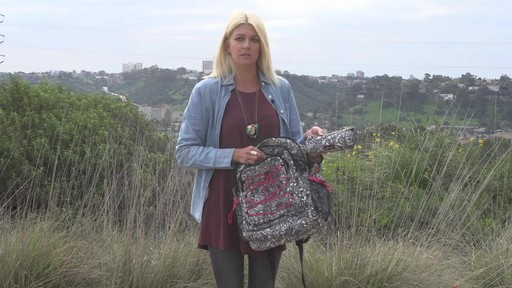 Sakroots Artist Circle Utility Backpack - image 10 from the video